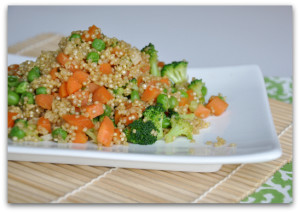 veggie quinoa fried rice
